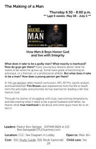 Making ofa Man Q2 2015