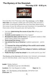 Mystery of Shemitah Q2 2015