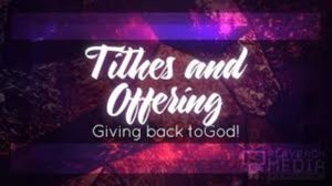 tithes offerings christian life church